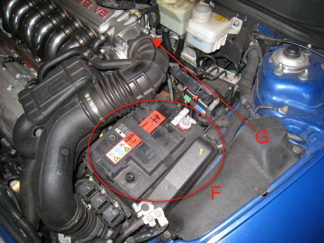 alfa 147 gta battery