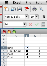 Harvey Balls Screenshot